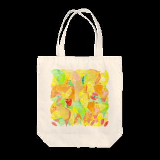 shirokumasaanの春の木漏れ日 Tote bags