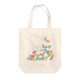 ABC...! Tote bags