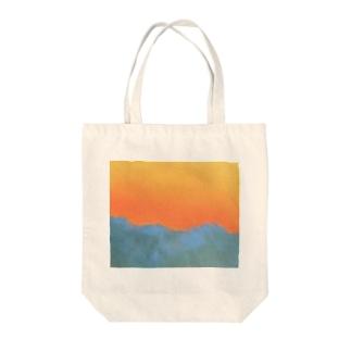 Sunrise Tote bags