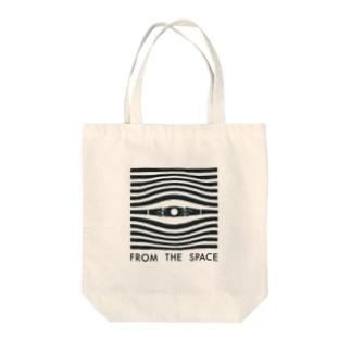 宇宙の目 Tote bags