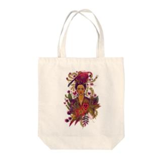 Frida Tote bags