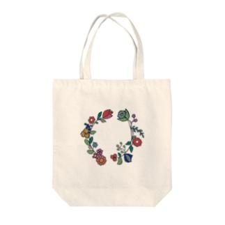 おもいでの花輪 Tote bags
