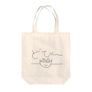 どびーシャツ Tote bags