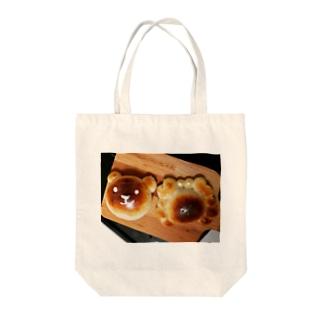 カニパンと熊パン Tote bags