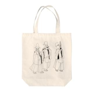 雅楽ねこちゃん Tote bags