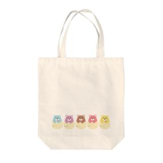 eggbears Tote bags