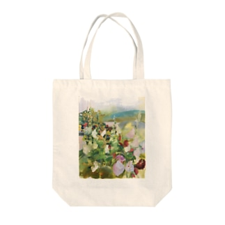 「the house, a rose of Sharon」 Tote bags