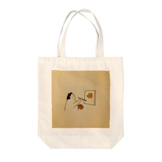 力士絵画 Tote bags