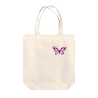 バタフライ/夜明け Tote bags