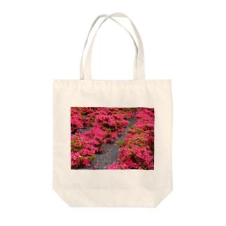 ツツジ azalea DATA_P_118 Tote bags