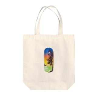 ネイルアート Tote bags
