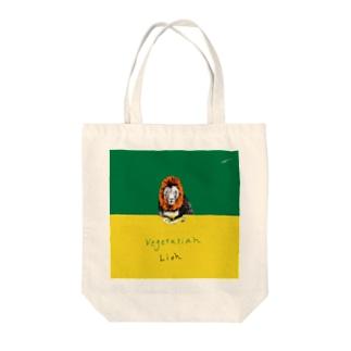 ベジタリアン Tote bags