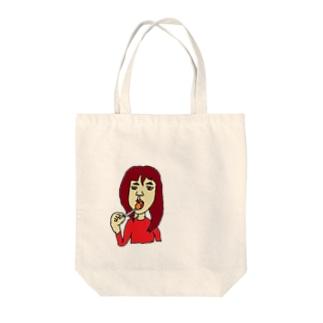 アメなめる女子 Tote bags