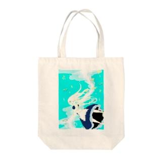 水底アリス Tote bags