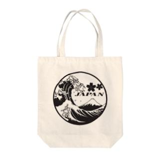 日本富士波JAPAN Tote bags