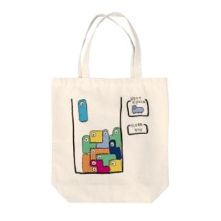 アルパカ テトリス風 Tote bags