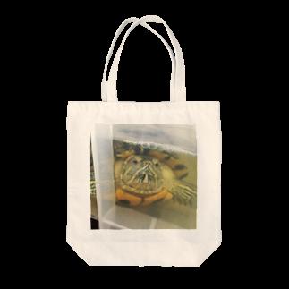 Loose and cuteのグリちゃん Tote bags