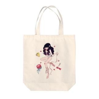 「落ちこぼれバレリーナ」 Tote bags