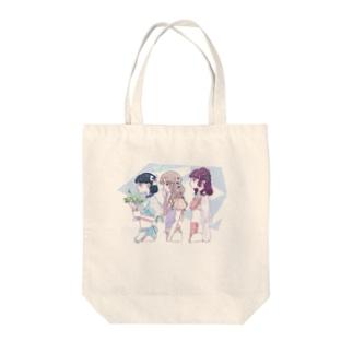 「淡花」 Tote bags