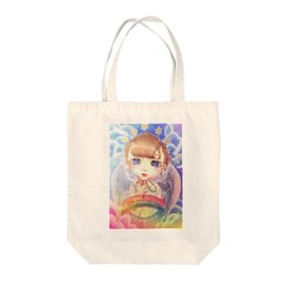 an earnest prayer  Tote bags