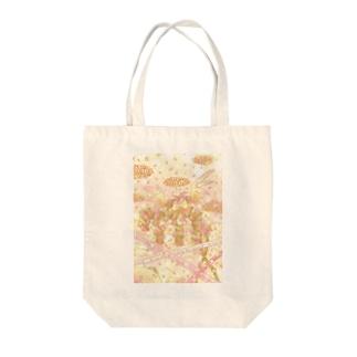 星座シリーズ 乙女座 Tote bags