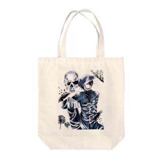 オリジナル・ダークサイドの紳士 Tote bags