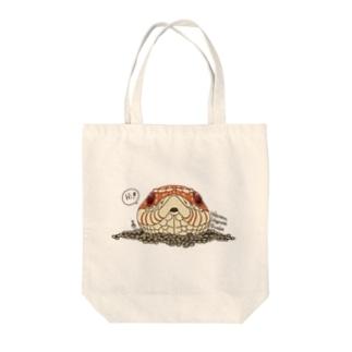 シシバナヘッド(アルビノ) Tote bags