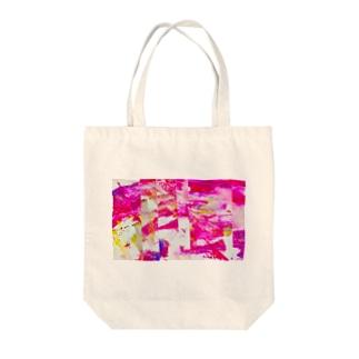 Fujino@二月展示の鮮-sen- Tote bags