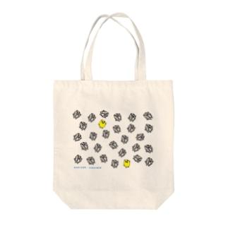 正義の味方ヒヨコノオミセ Tote bags