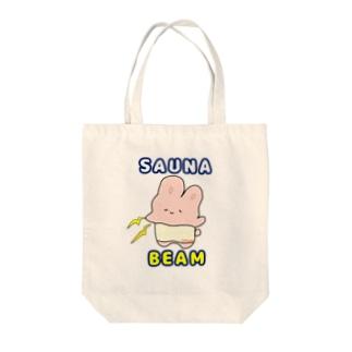 サウナ⚡️ビーム Tote bags