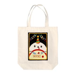 お誕生日のパンダさん Tote bags
