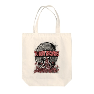 FLOWER(RED) Tote bags