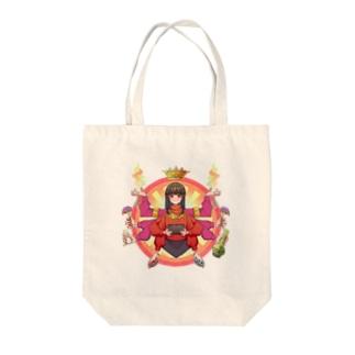 母は愛 Tote bags