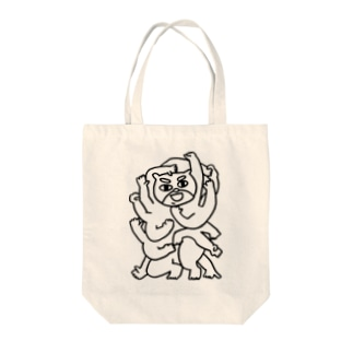 おててててててててててててててててくま君。 Tote bags