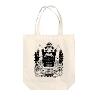 烏賊の紋章 Tote bags