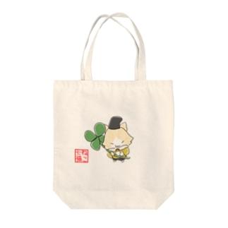 恵比寿にゃん(ねこ七福) Tote bags