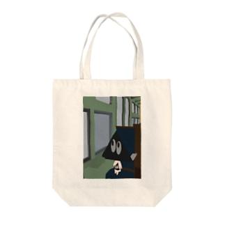 伊賀越え Tote bags