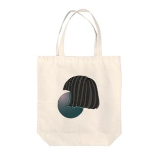おかっぱ Tote bags