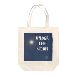 ゼロイチゼロショップのunder the moon Tote bags