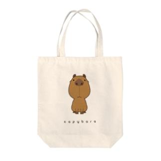 カピバラ Tote bags