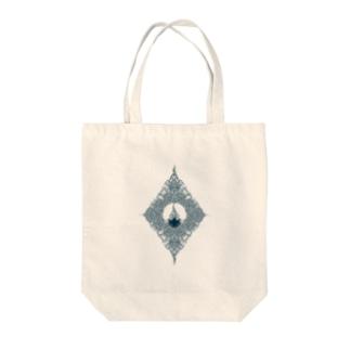 lotus Tote bags