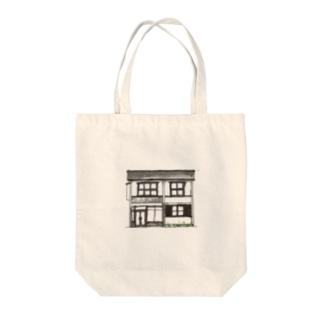 小さな街の仕立屋さん Tote bags