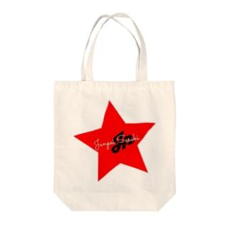 JP STAR LOGO Tote bags