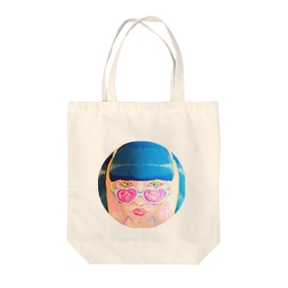 TWINTAIL GIRL Tote bags