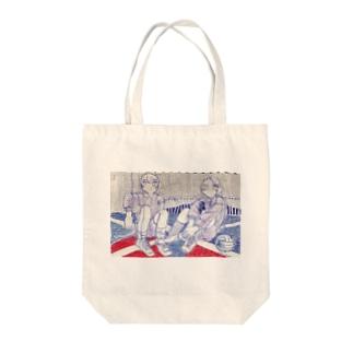体育館 Tote bags