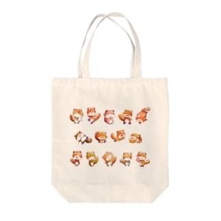 [ りすのくうざえもん×14 ] Tote bags