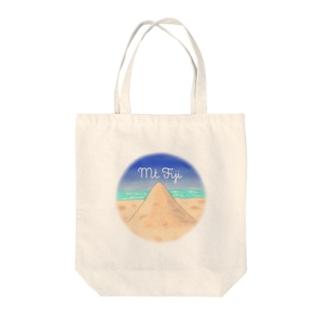 Mt.Fiji Tote bags