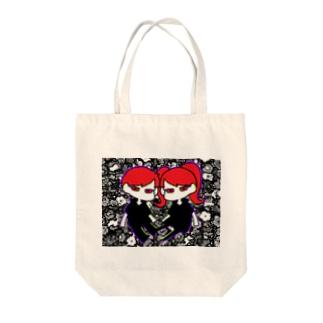 望と望 Tote bags