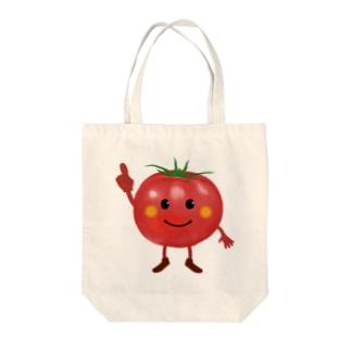トマトちゃん Tote bags