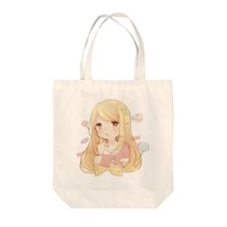ゆるふわちゃん Tote bags